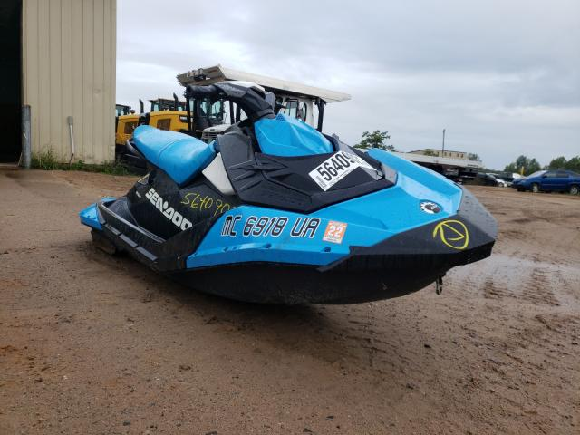 Salvage boats for sale at Kincheloe, MI auction: 2016 Seadoo Wave Runner