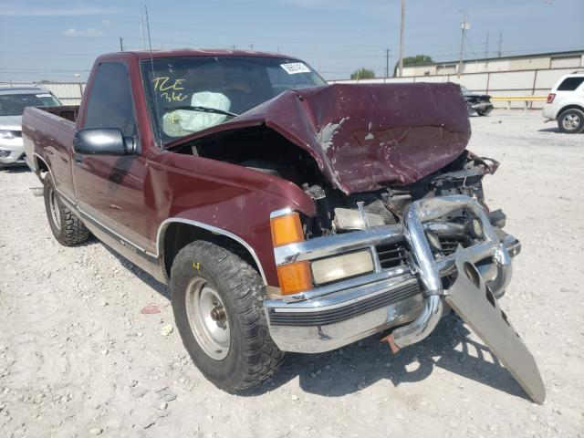 Salvage cars for sale from Copart Haslet, TX: 1997 Chevrolet GMT-400 C1