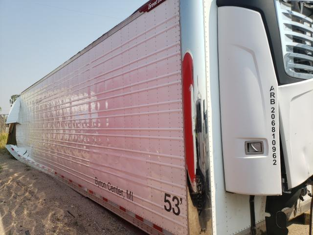 Salvage trucks for sale at Casper, WY auction: 2020 Great Dane Trailer