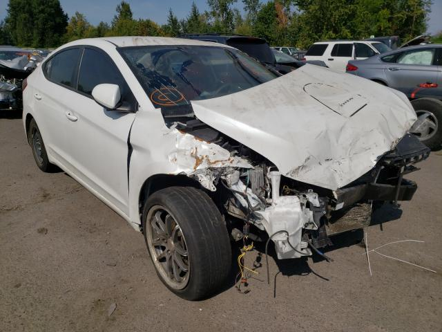 Salvage cars for sale from Copart Portland, OR: 2017 Hyundai Elantra SE