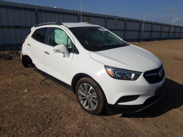Salvage cars for sale from Copart Mercedes, TX: 2019 Buick Encore PRE