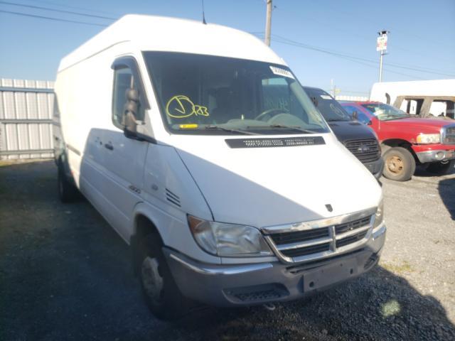 Salvage trucks for sale at Alorton, IL auction: 2006 Dodge Sprinter 3