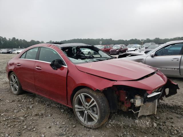 Salvage cars for sale from Copart Ellenwood, GA: 2021 Mercedes-Benz CLA 250