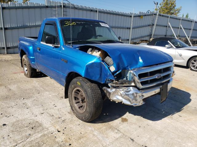 Salvage cars for sale from Copart Walton, KY: 1999 Ford Ranger