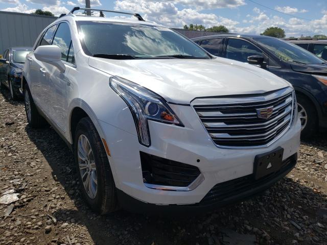 Cadillac Vehiculos salvage en venta: 2017 Cadillac XT5 Luxury