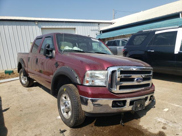 Salvage cars for sale from Copart Pekin, IL: 2005 Ford F250 Super