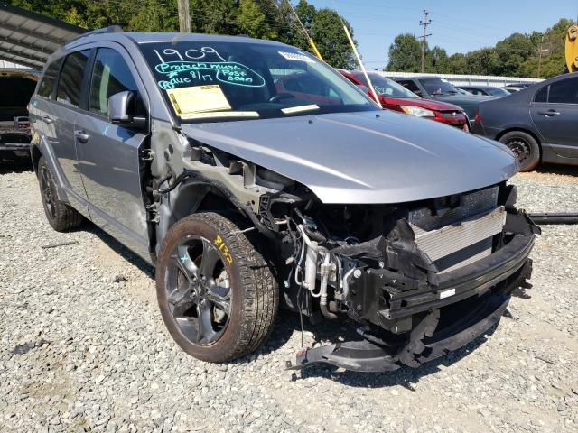 Salvage cars for sale from Copart Mebane, NC: 2019 Dodge Journey CR