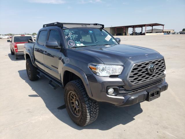Vehiculos salvage en venta de Copart Wilmer, TX: 2020 Toyota Tacoma DOU
