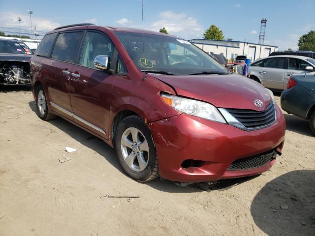Vehiculos salvage en venta de Copart Finksburg, MD: 2014 Toyota Sienna LE