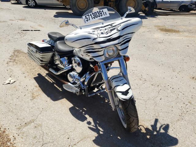 Salvage cars for sale from Copart Bridgeton, MO: 2004 Kawasaki VN800 B
