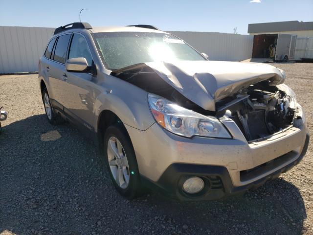 Vehiculos salvage en venta de Copart Bismarck, ND: 2014 Subaru Outback 2