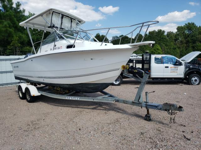 Salvage boats for sale at Charles City, VA auction: 2003 Sea Pro Boat