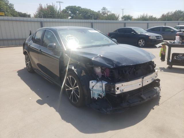 Vehiculos salvage en venta de Copart Wilmer, TX: 2020 Toyota Camry SE
