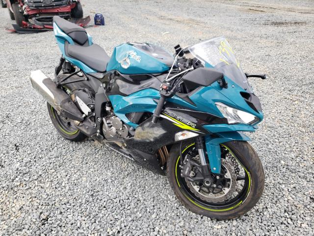 Salvage cars for sale from Copart Concord, NC: 2021 Kawasaki ZX636 K