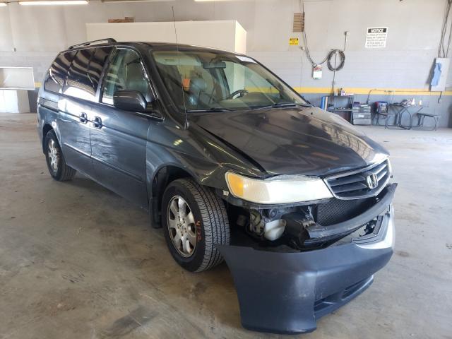 Honda Odyssey salvage cars for sale: 2003 Honda Odyssey