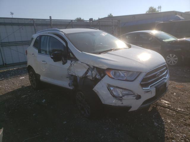 Salvage cars for sale at Finksburg, MD auction: 2020 Ford Ecosport T