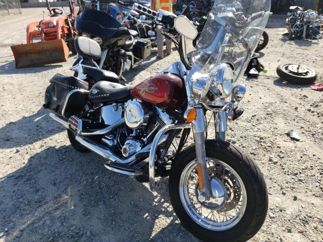 Salvage cars for sale from Copart Seaford, DE: 2008 Harley-Davidson Flstc