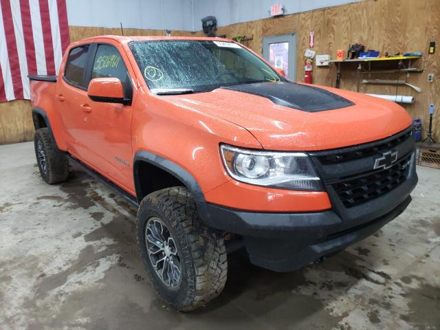 Salvage cars for sale from Copart Kincheloe, MI: 2019 Chevrolet Colorado Z