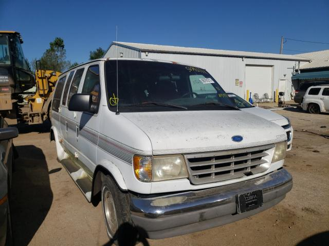 Salvage trucks for sale at Pekin, IL auction: 1996 Ford Econoline