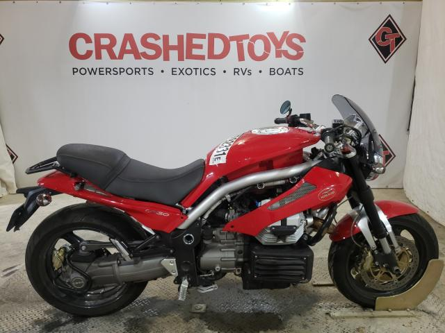 Salvage cars for sale from Copart Columbia, MO: 2007 Moto Guzzi Griso 1100