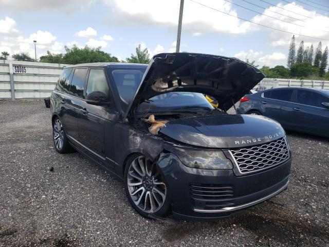 Land Rover Vehiculos salvage en venta: 2018 Land Rover Range Rover