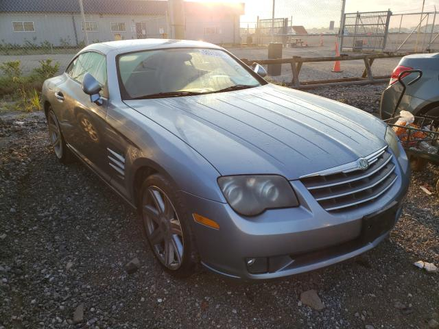 Chrysler Crossfire salvage cars for sale: 2006 Chrysler Crossfire