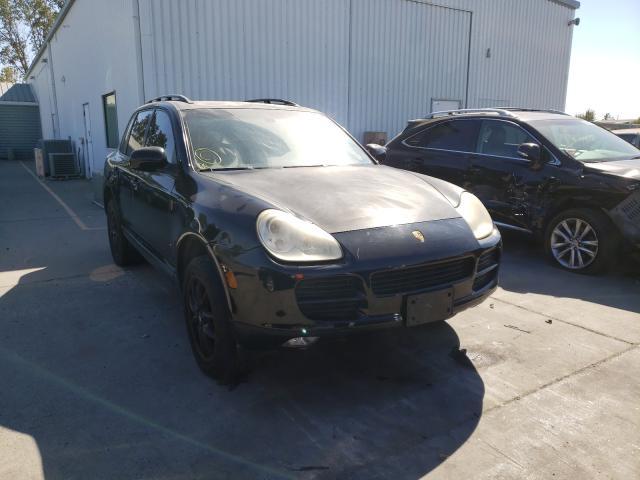 Porsche salvage cars for sale: 2005 Porsche Cayenne S
