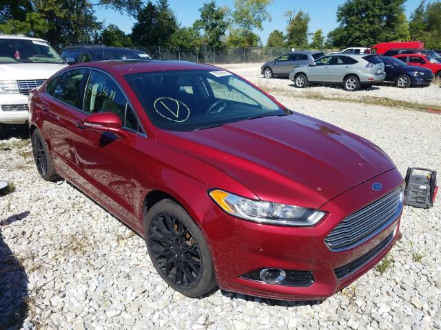 Salvage cars for sale from Copart Cicero, IN: 2016 Ford Fusion Titanium