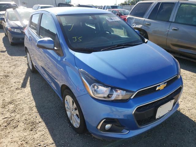 Salvage cars for sale at Nisku, AB auction: 2017 Chevrolet Spark 1LT