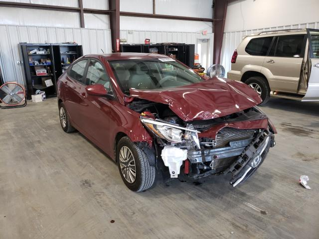 Salvage cars for sale from Copart Byron, GA: 2017 Hyundai Accent SE