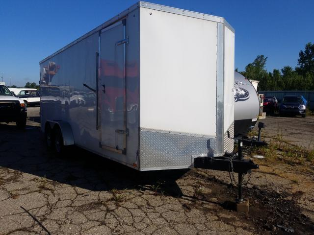Utilimaster salvage cars for sale: 2017 Utilimaster Trailer