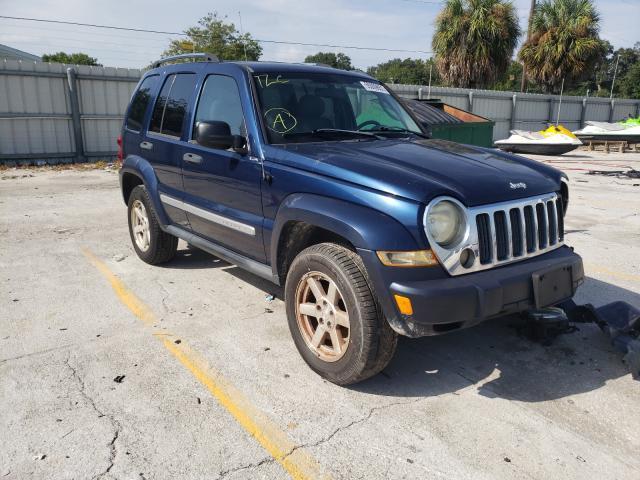 Salvage cars for sale from Copart Punta Gorda, FL: 2005 Jeep Liberty LI