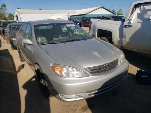 Salvage cars for sale from Copart Pekin, IL: 2002 Toyota Camry LE