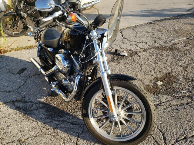 Salvage motorcycles for sale at Woodhaven, MI auction: 2009 Harley-Davidson XL883 L