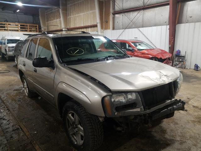 Salvage cars for sale at Anchorage, AK auction: 2002 Chevrolet Trailblazer