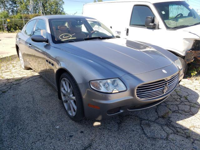 Salvage cars for sale from Copart Wheeling, IL: 2005 Maserati Quattropor