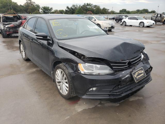 Vehiculos salvage en venta de Copart Wilmer, TX: 2016 Volkswagen Jetta SEL