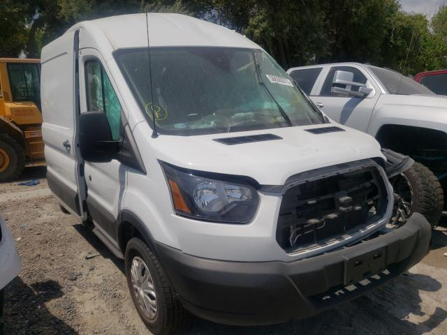 Salvage cars for sale from Copart Corpus Christi, TX: 2019 Ford Transit T