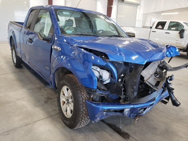Salvage cars for sale from Copart Avon, MN: 2016 Ford F150 Super