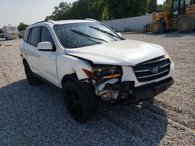 Hyundai Santa FE salvage cars for sale: 2008 Hyundai Santa FE