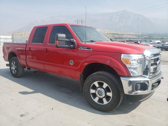 Salvage cars for sale from Copart Farr West, UT: 2011 Ford F250 Super