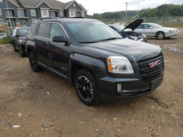 Salvage cars for sale from Copart Madison, WI: 2017 GMC Terrain SL