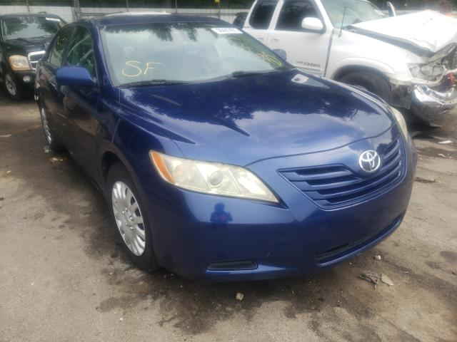 Salvage cars for sale from Copart Austell, GA: 2007 Toyota Camry CE