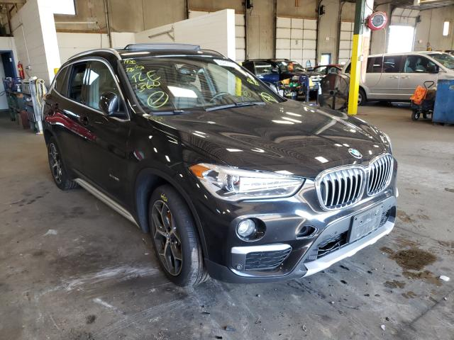 Salvage cars for sale from Copart Blaine, MN: 2017 BMW X1 XDRIVE2