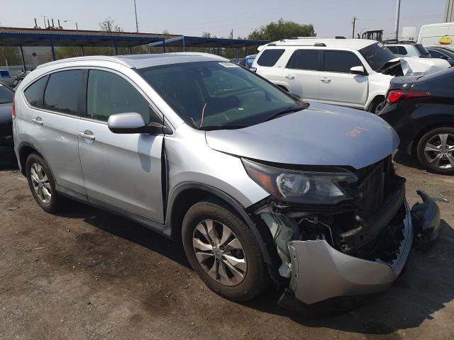 Salvage cars for sale at Las Vegas, NV auction: 2012 Honda CR-V EXL
