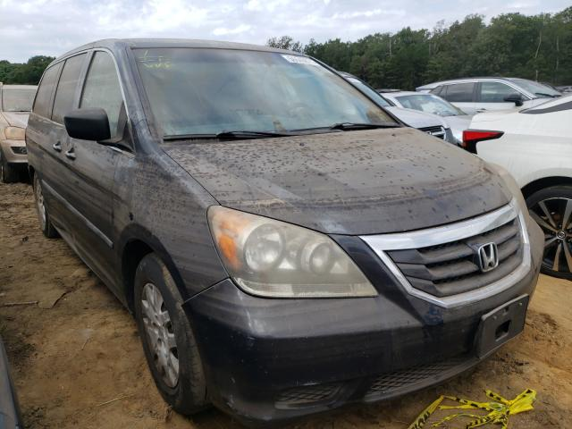 Salvage cars for sale from Copart Windsor, NJ: 2009 Honda Odyssey LX