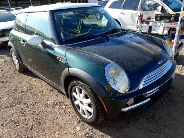 Salvage cars for sale from Copart Phoenix, AZ: 2003 Mini Cooper