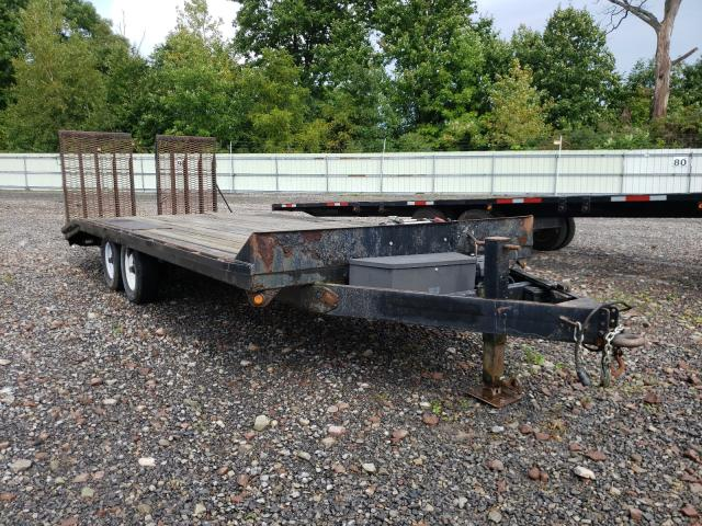 Salvage cars for sale from Copart Central Square, NY: 2006 Pequ Trailer