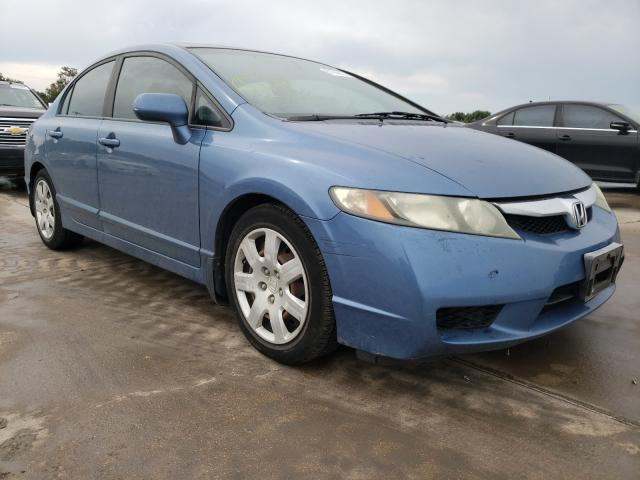 Vehiculos salvage en venta de Copart Wilmer, TX: 2009 Honda Civic LX