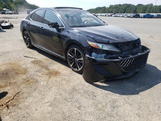 Salvage cars for sale at Shreveport, LA auction: 2018 Toyota Camry XSE